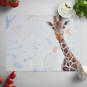 """George"" The Giraffe Glass Worktop Saver"