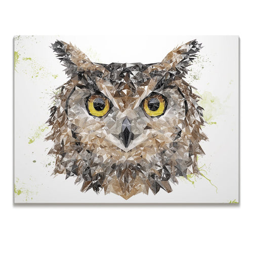 """Brown Owl"" Skinny Canvas Print"