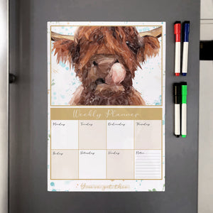 Harry A3 Magnetic weekly planner