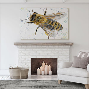 """The Honey Bee"" Canvas Print - Andy Thomas Artworks"