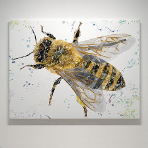 """The Honey Bee"" Small Canvas Print - Andy Thomas Artworks"