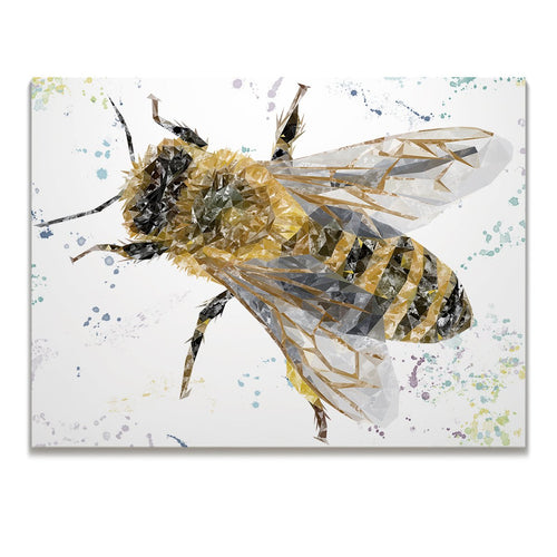 """The Honey Bee"" Skinny Canvas Print"