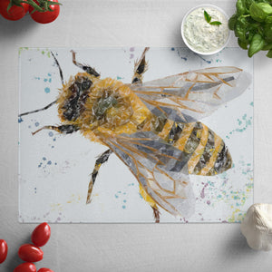 """The Honey Bee"" Glass Worktop Saver"