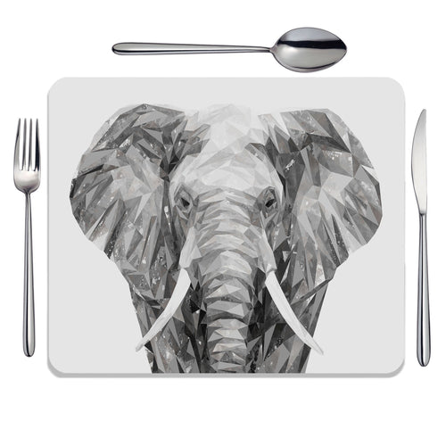 """Ernest"" The Elephant Placemat"