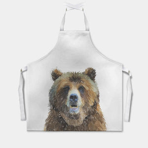 """Monty"" The Brown Bear Apron"