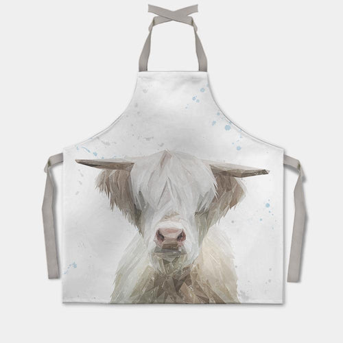 """Evan"" The Highland Bull Apron"