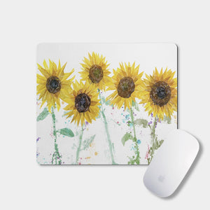 """The Sunflowers"" Mousemat - Andy Thomas Artworks"