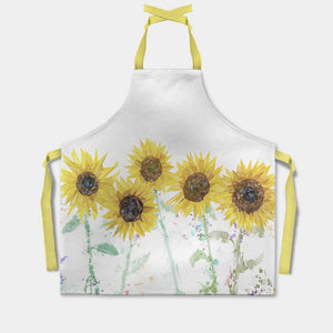 """The Sunflowers"" Apron - Andy Thomas Artworks"