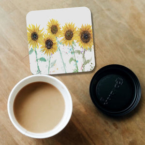"""The Sunflowers"" Coaster - Andy Thomas Artworks"