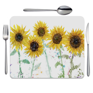 """The Sunflowers"" Placemat - Andy Thomas Artworks"
