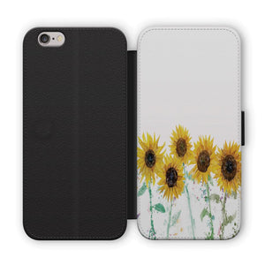 """The Sunflowers"" Flip Phone Case - Andy Thomas Artworks"