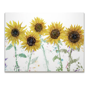 """The Sunflowers"" Skinny Canvas Print - Andy Thomas Artworks"