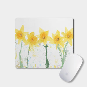 """The Daffodils"" Mousemat - Andy Thomas Artworks"