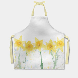 """The Daffodils"" Apron - Andy Thomas Artworks"