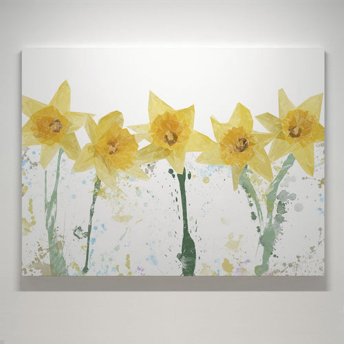 """The Daffodils"" Small Canvas Print"