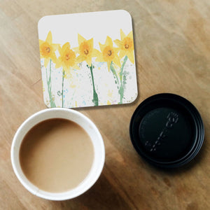 """The Daffodils"" Coaster - Andy Thomas Artworks"