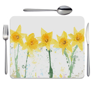 """The Daffodils"" Placemat - Andy Thomas Artworks"