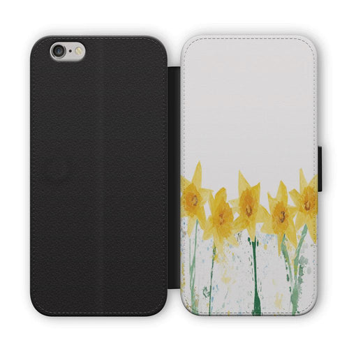 """The Daffodils"" Flip Phone Case"