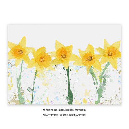 """The Daffodils"" A2 Unframed Art Print"