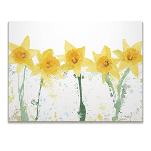 """The Daffodils"" Skinny Canvas Print - Andy Thomas Artworks"
