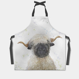 """Betty"" The Valais Blacknose Sheep Apron - Andy Thomas Artworks"