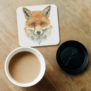 """The Fox"" Coaster - Andy Thomas Artworks"