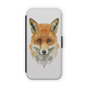 """The Fox"" Flip Phone Case - Andy Thomas Artworks"
