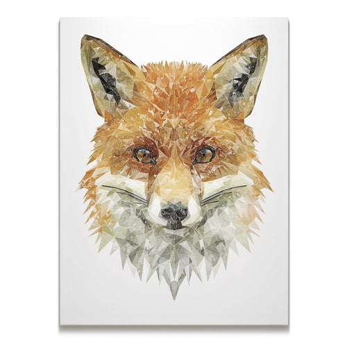 """The Fox"" Skinny Canvas Print"