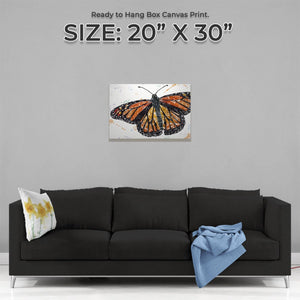 """The Butterfly"" Medium Canvas Print - Andy Thomas Artworks"