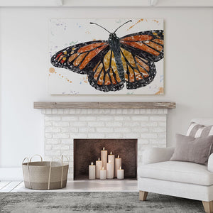 """The Butterfly"" Canvas Print - Andy Thomas Artworks"