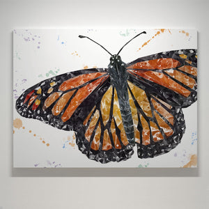 """The Butterfly"" Small Canvas Print - Andy Thomas Artworks"