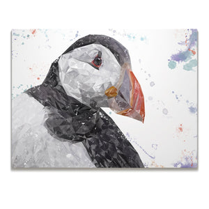 """The Puffin"" Skinny Canvas Print"