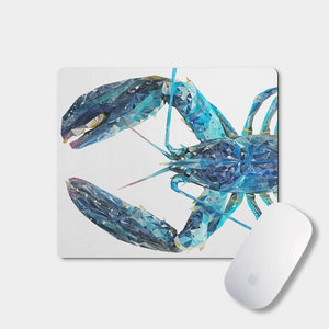 """The Blue Lobster"" Mousemat - Andy Thomas Artworks"
