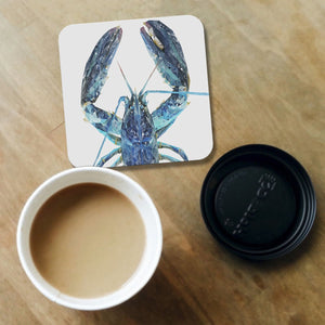 """The Blue Lobster"" Coaster - Andy Thomas Artworks"