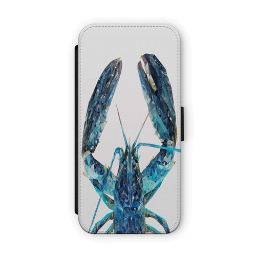 """The Blue Lobster"" Flip Phone Case"