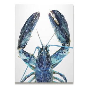 """The Blue Lobster"" Skinny Canvas Print"