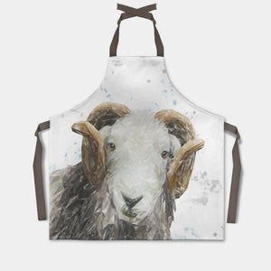 """Stanley"" The Herdwick Ram Apron - Andy Thomas Artworks"