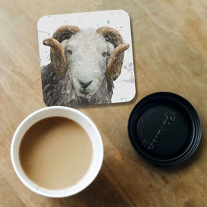 """Stanley"" The Herdwick Ram Coaster - Andy Thomas Artworks"