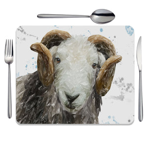 """Stanley"" The Herdwick Ram Placemat - Andy Thomas Artworks"