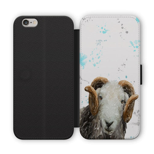 """Stanley"" The Herdwick Ram Flip Phone Case"