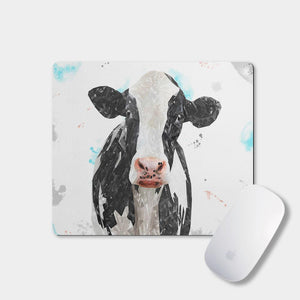"""Harriet"" The Holstein Cow Mousemat - Andy Thomas Artworks"