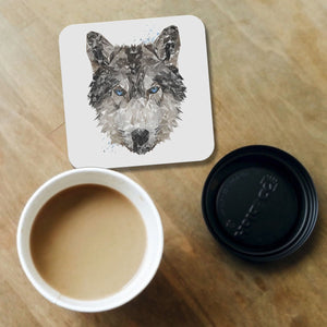 """The Wolf"" Coaster - Andy Thomas Artworks"