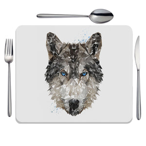 """The Wolf"" Placemat - Andy Thomas Artworks"