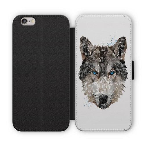 """The Wolf"" Flip Phone Case"