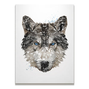 """The Wolf"" Skinny Canvas Print"