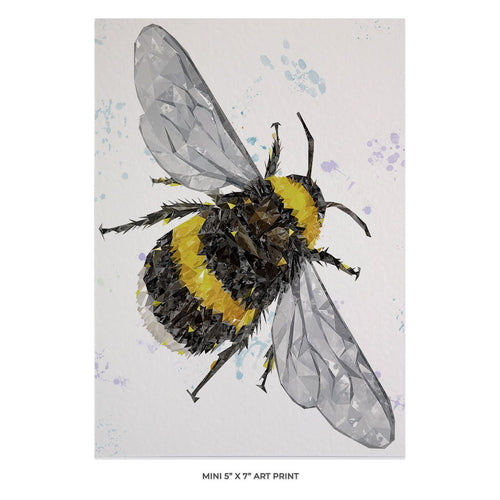 """The Bee"" (Portrait) 5x7 Mini Print"