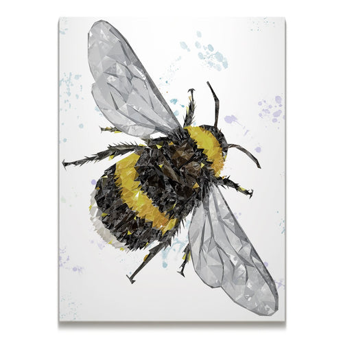 """The Bee"" (Portrait) Skinny Canvas Print"