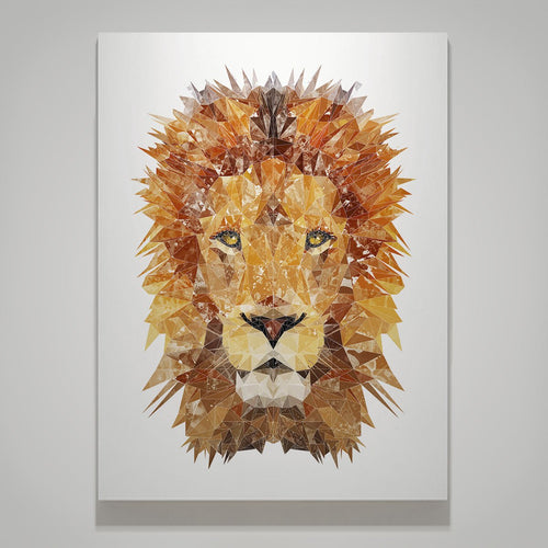 """The Lion"" Medium Canvas Print"