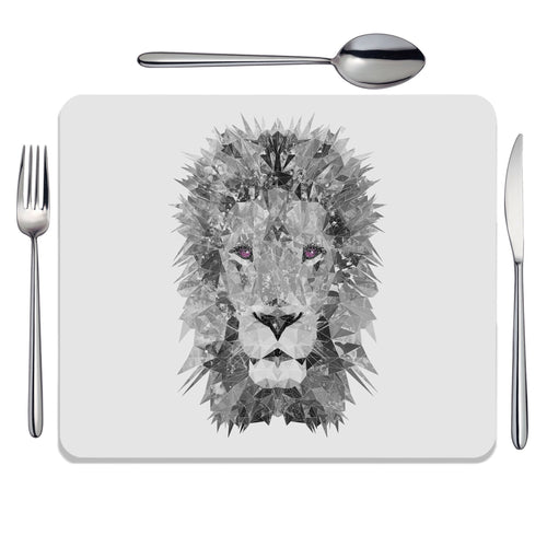 """The Lion"" (B&W) Placemat"
