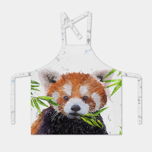 """Red"" The Red Panda Apron - Andy Thomas Artworks"